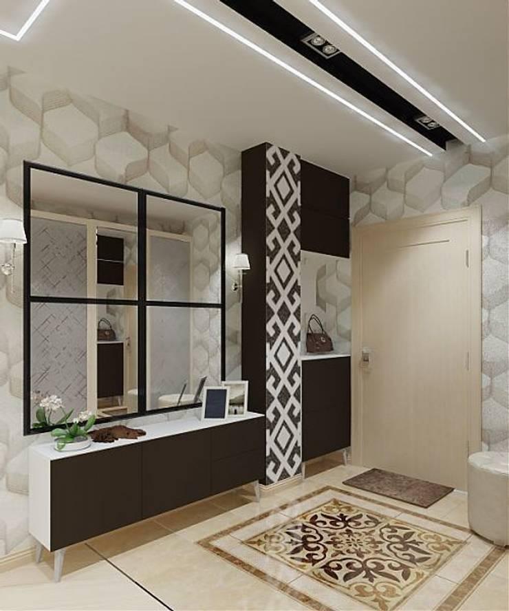 Дизайн проект квартиры в Коломягах: Коридор и прихожая в . Автор – MoRo