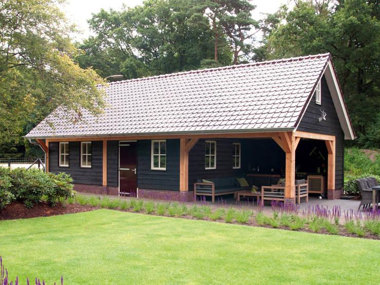 Garage/shed by Geldersche Houtbouw