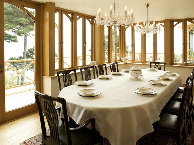 La Belle Vue: classic Dining room by CCD Architects