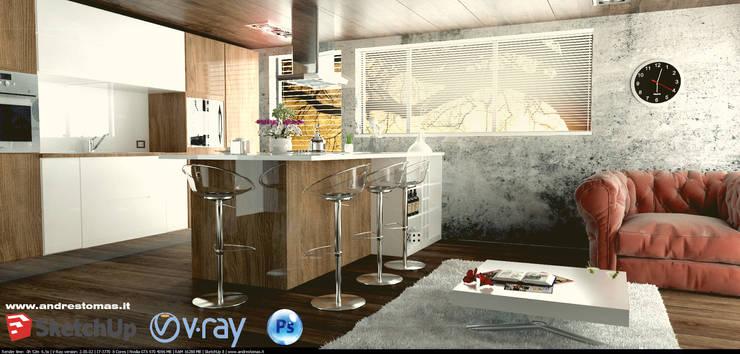 Cucina moderna: Cucina in stile in stile Moderno di Tomas Andres
