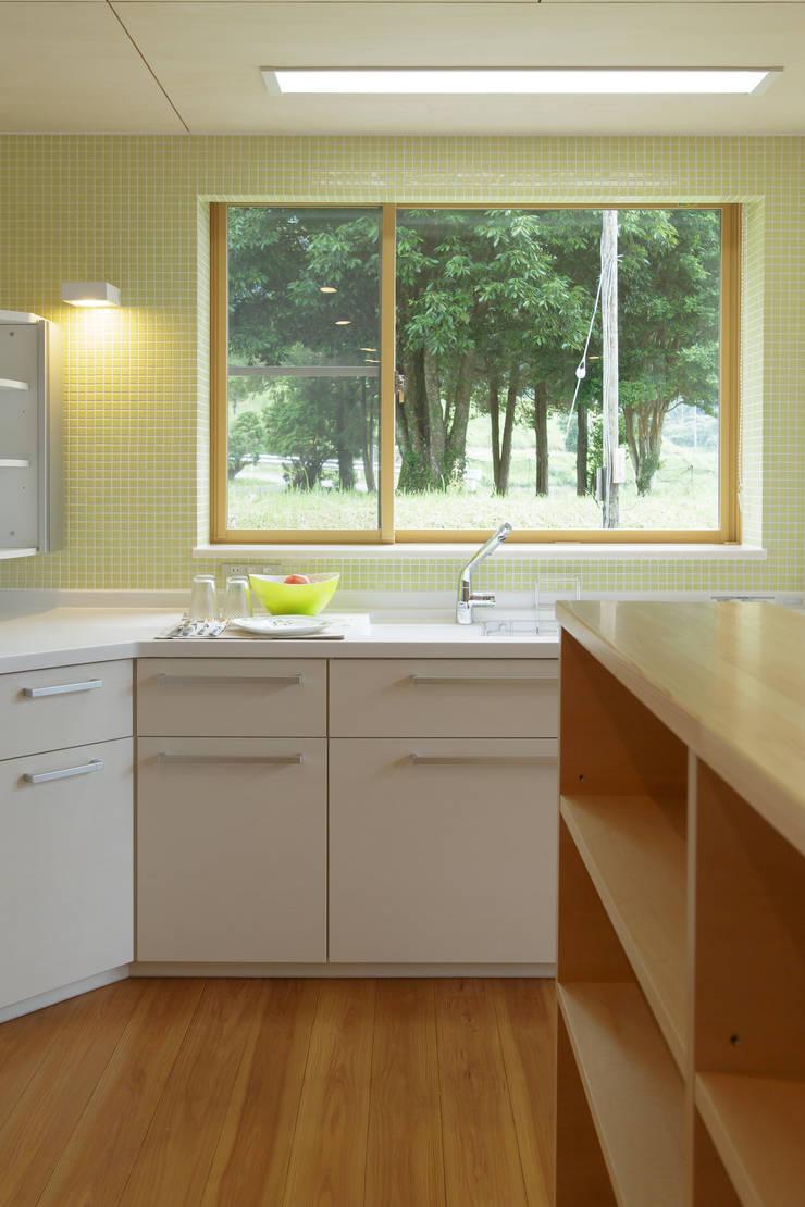 house in Ishikawauchi: とやま建築デザイン室が手掛けたキッチンです。