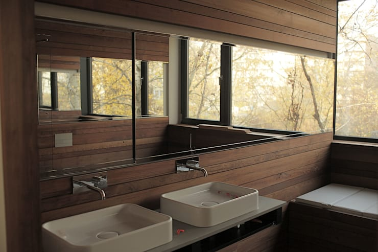 Helm Westhaus Architekten의  욕실