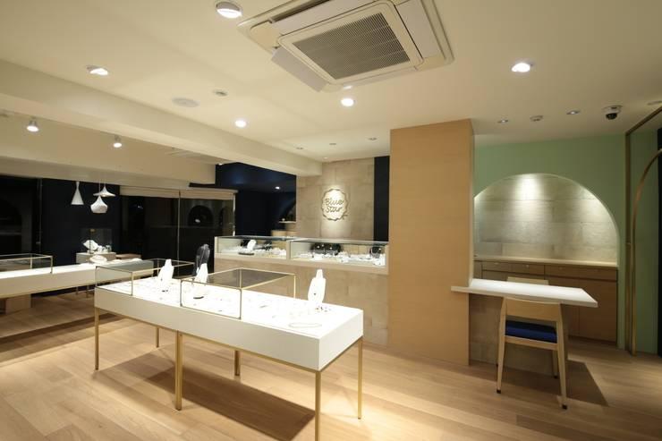 代官山のジュエリーショップ: sorama me Inc.が手掛けたオフィススペース&店です。