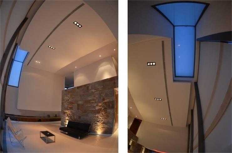 Proyecto VC1: Livings de estilo  por CLEMENT-RICO I Arquitectos,Moderno