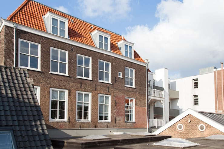 Houses by Brand Olink Architecten, Modern