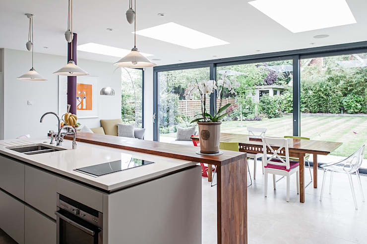 Projekty,  Kuchnia zaprojektowane przez Nic  Antony Architects Ltd