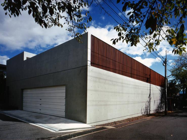 長岡京の住宅: 宮崎仁志建築設計事務所が手掛けた家です。,