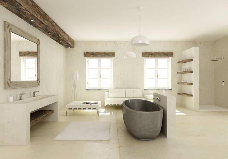 Baños de estilo ecléctico por Mamoli Rubinetteria