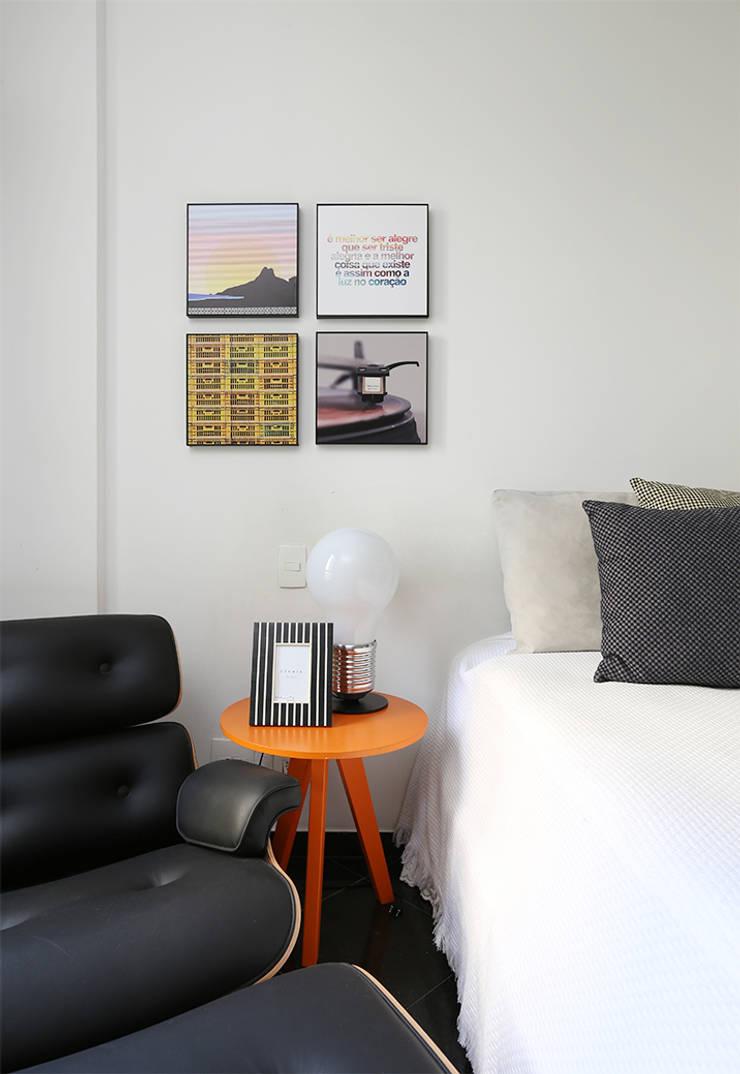 Detalhes - Dormitório por Duda Senna Arquitetura e Decoração Moderno