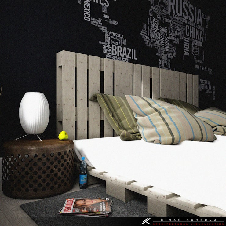 Kamar Tidur by SK ARCHITECTURAL VISUALIZATION
