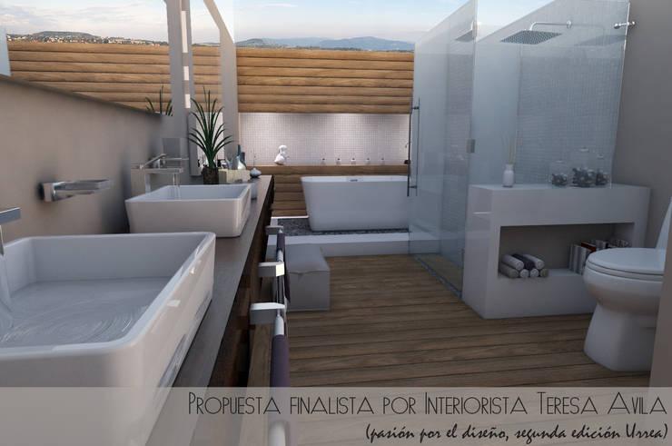 Presentación de proyecto: Espacios comerciales de estilo  por Interiorista Teresa Avila