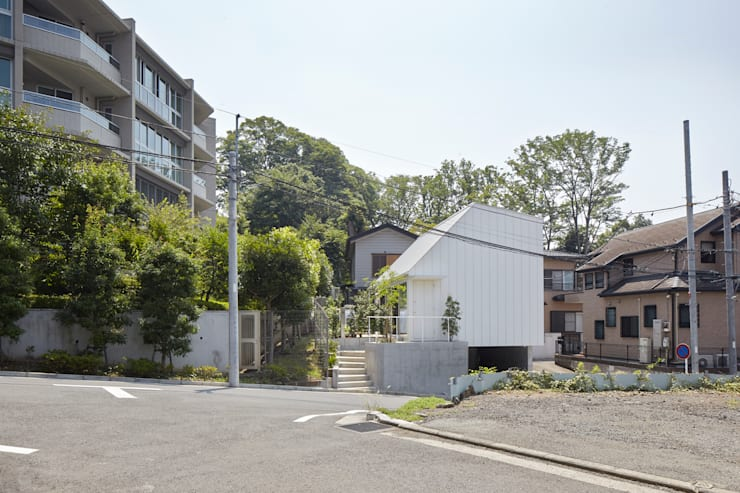 Houses by 白砂孝洋建築設計事務所, Minimalist