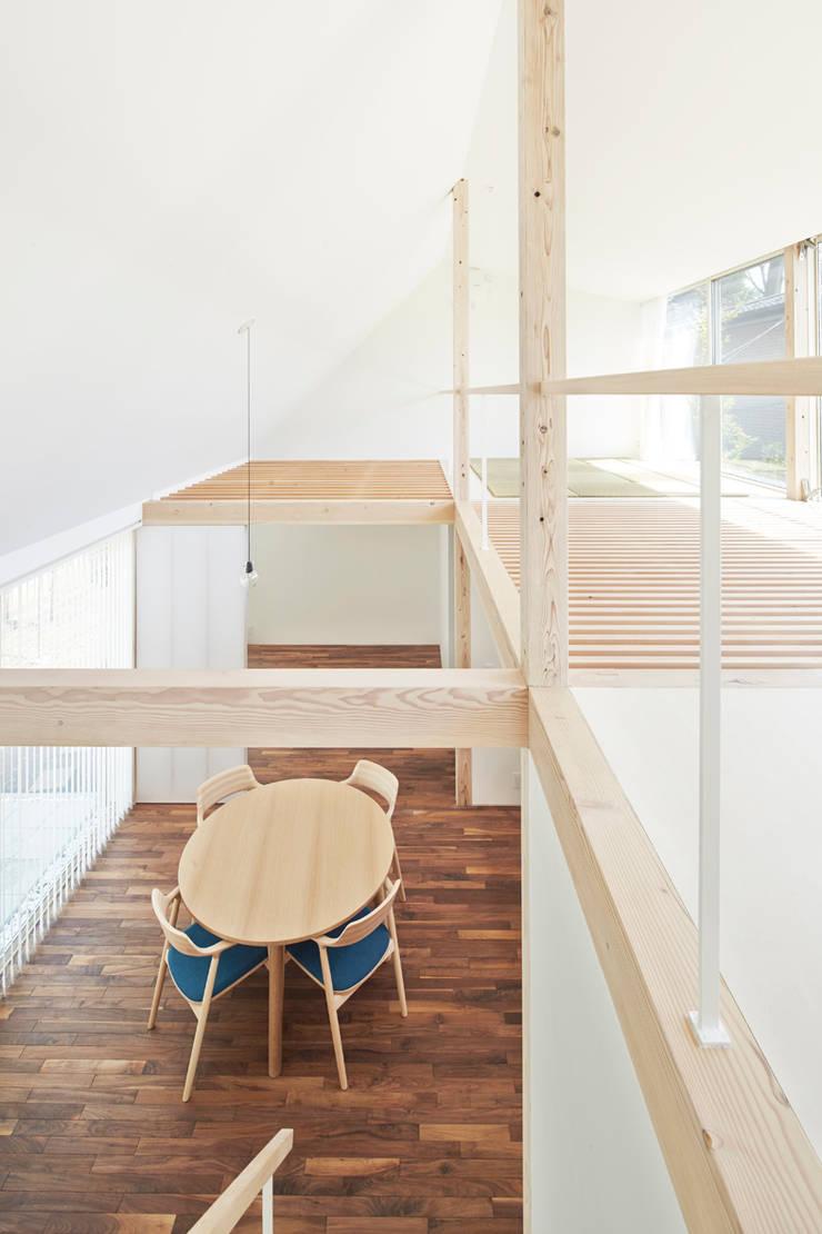 Media room by 白砂孝洋建築設計事務所, Minimalist