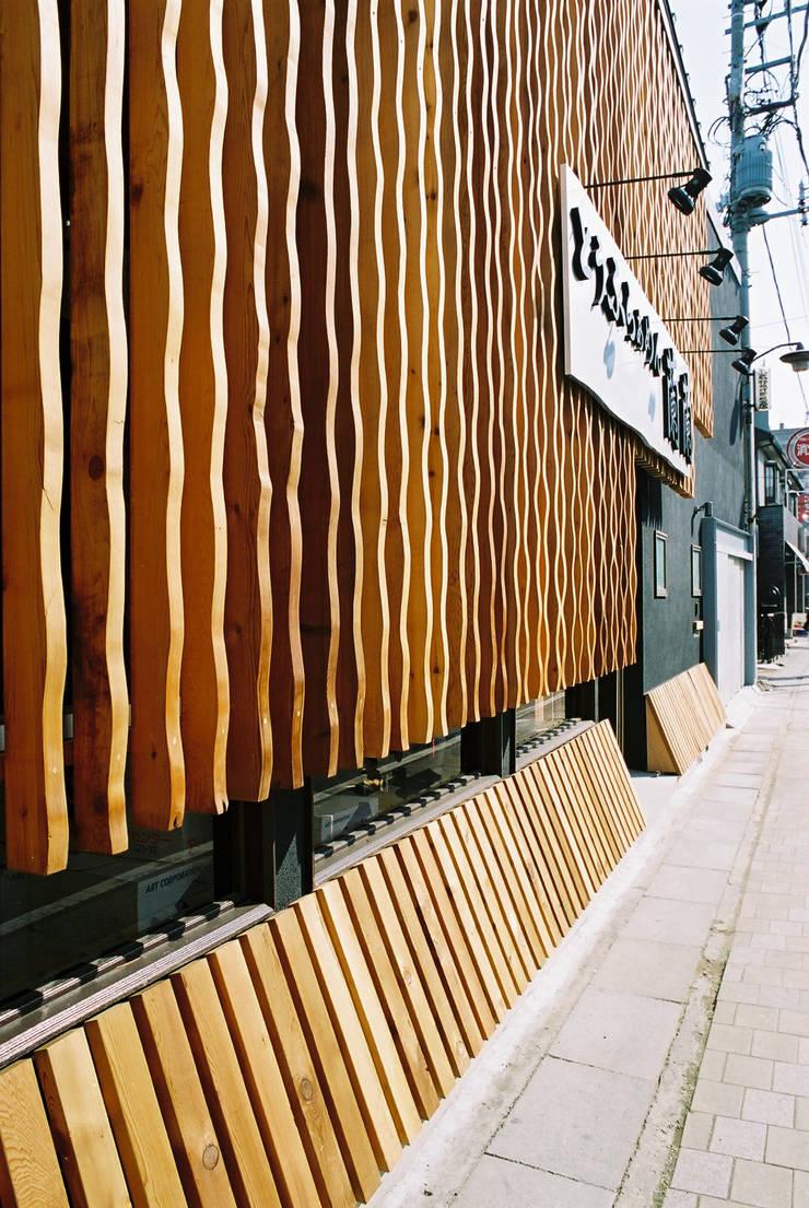 外観はお店のイメージ: 遠藤浩建築設計事務所 H,ENDOH  ARCHTECT  &  ASSOCIATESが手掛けた商業空間です。