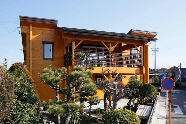 外観: 木の家株式会社が手掛けた家です。