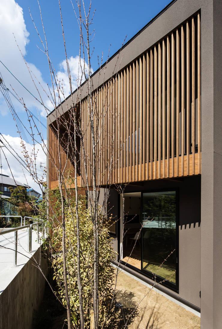 Walls by flame-planningoffice / 一級建築士事務所フレイム, Modern