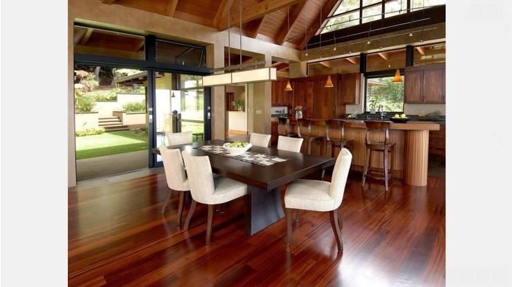 Group Enerji Yapı Dekorasyon – Karbonize Bambu Masif Parke:  tarz , Rustik