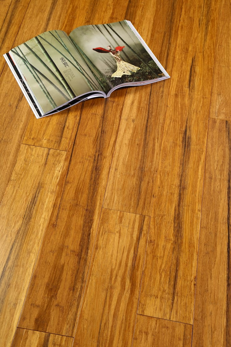 "Group Enerji Yapı Dekorasyon – Woodtropic ""Gold"" , model masif parke:  tarz , Rustik"