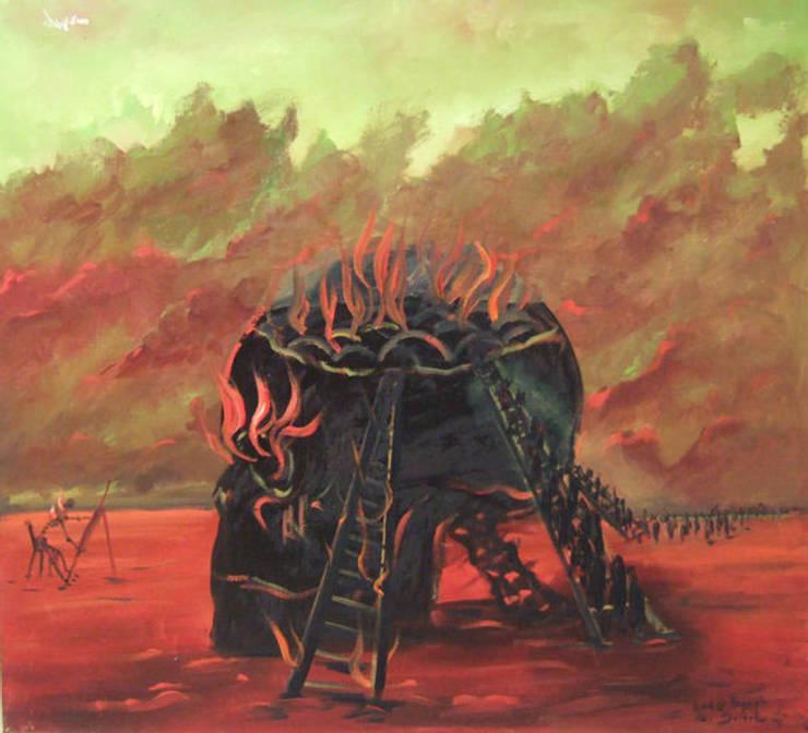 Ressam Bayro(Bayram SALTABAŞ) – sürrealizm:  tarz