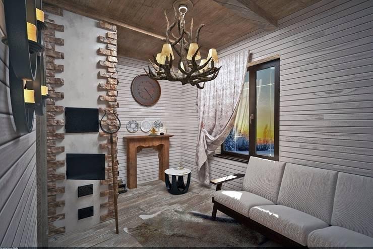 Домашний очаг: Коридор и прихожая в . Автор – Veronika Brown Studio, Рустикальный