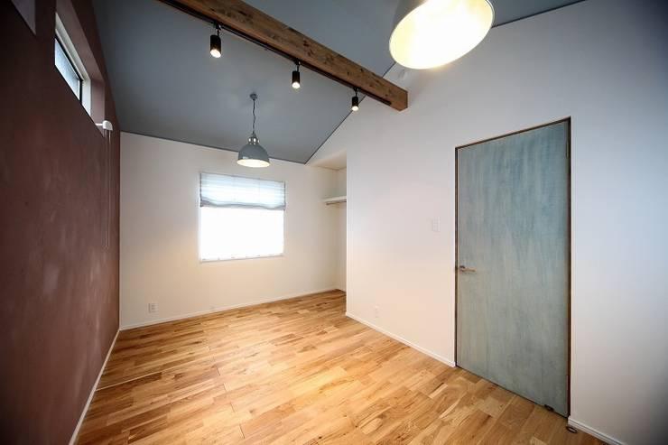 子供の成長を促す家 / zuiun: zuiun建築設計事務所 / 株式会社 ZUIUNが手掛けた子供部屋です。