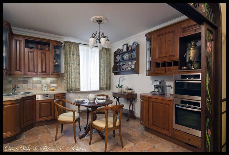 Квартира в стиле классического Арт Нуво: Кухни в . Автор – D&T Architects