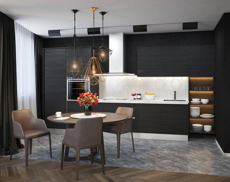 Verge of luxury: Кухни в . Автор – VAE DESIGN GROUP™