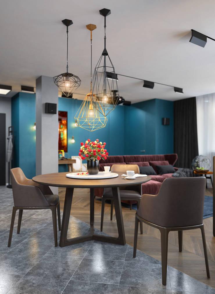 Verge of luxury: Столовые комнаты в . Автор – VAE DESIGN GROUP™ , Эклектичный