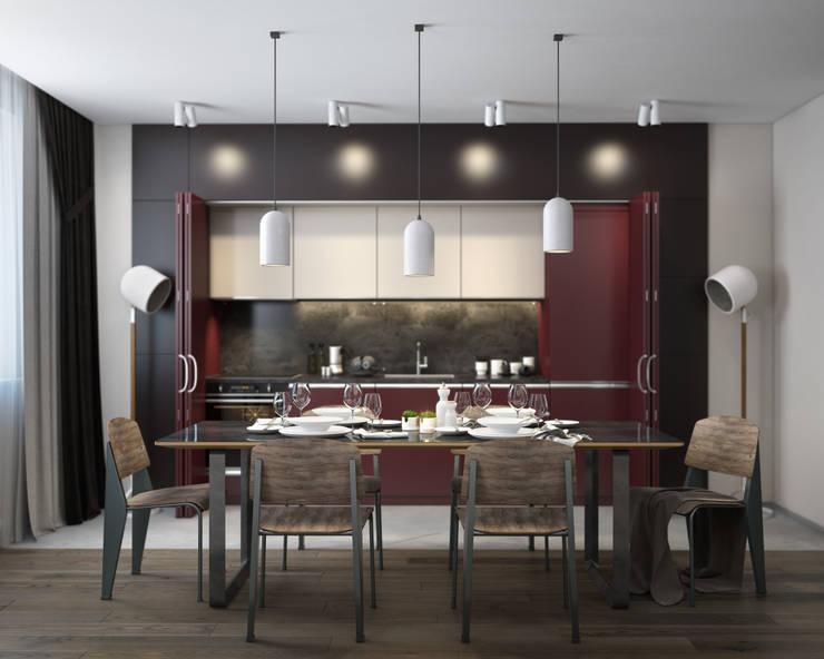 Garnet kitchen: Кухни в . Автор – VAE DESIGN GROUP™ ,