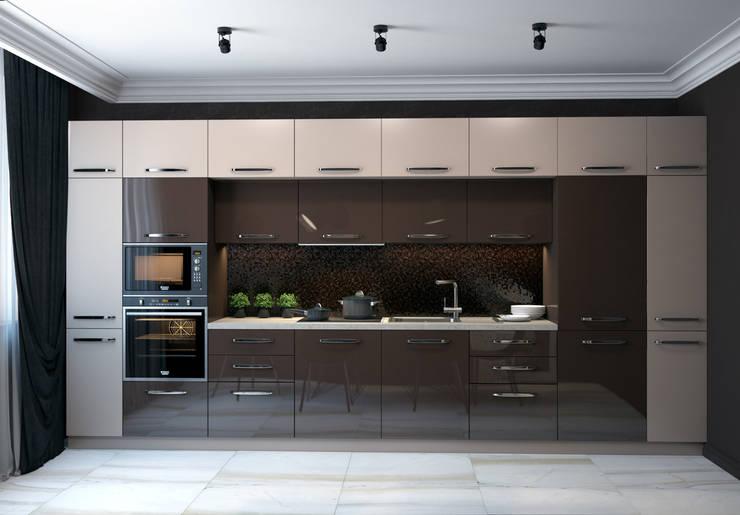 Reflection of classics: Кухни в . Автор – VAE DESIGN GROUP™