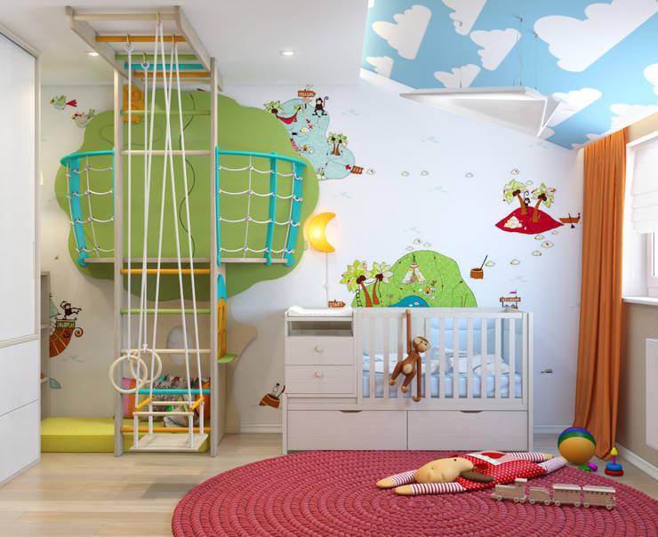 Paper Plane: Детские комнаты в . Автор – VAE DESIGN GROUP™