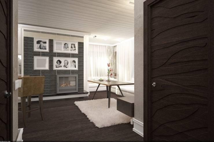 Дизайн интерьера п.FamilyClub: Гостиная в . Автор – Veronika Brown Studio