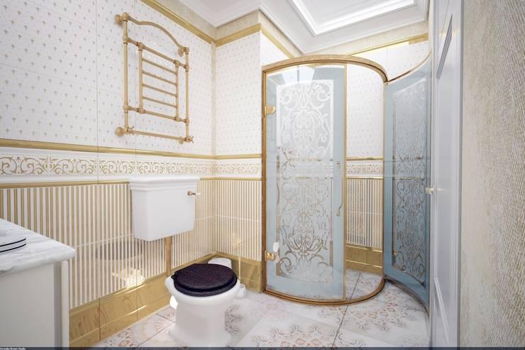 Классика на Бунинских аллеях: Ванные комнаты в . Автор – Veronika Brown Studio, Классический