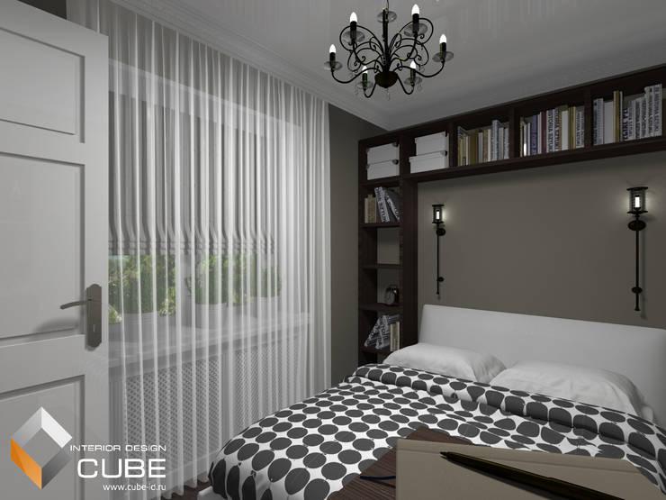 Дизайн малогабаритной квартиры: Спальни в . Автор – Лаборатория дизайна 'КУБ'
