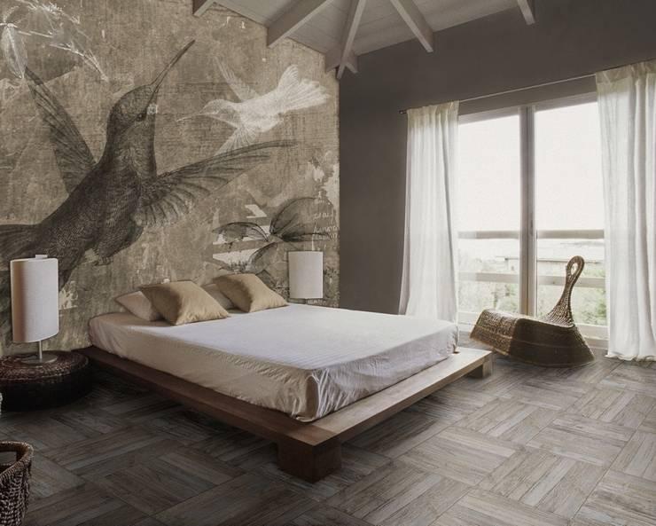 Paredes y pisos de estilo  por PIXIE progetti e prodotti
