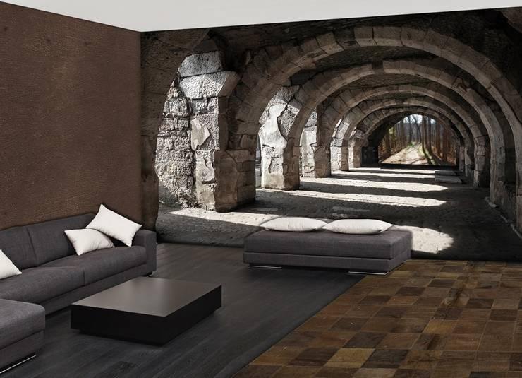 Galilea - sentiero: Pareti & Pavimenti in stile  di PIXIE progetti e prodotti