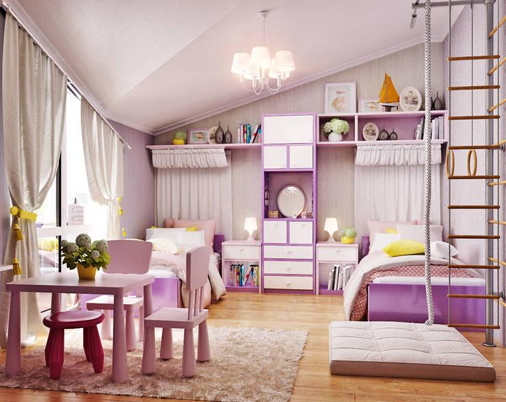 Chambre d'enfant de style  par Студия дизайна Interior Design IDEAS