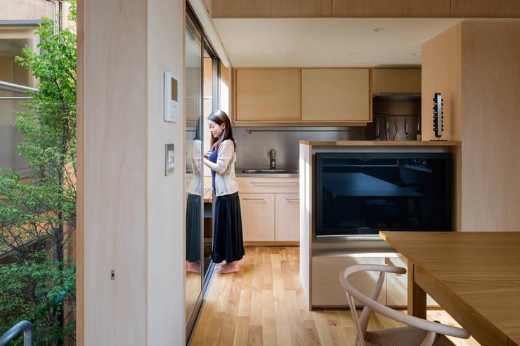 FP: 株式会社リオタデザインが手掛けたキッチンです。