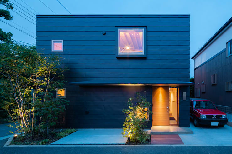 Casas de estilo  por 株式会社リオタデザイン