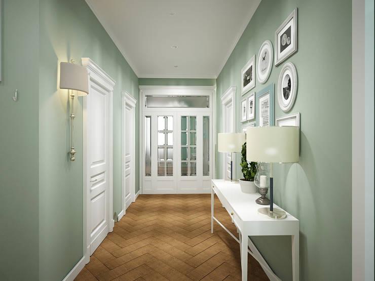 Дизайн-проект 3-й квартиры: Коридор и прихожая в . Автор – Лилия Панкова