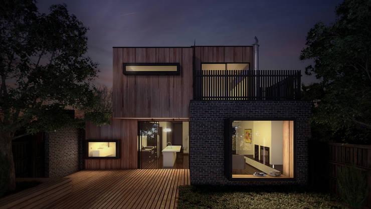 Casas de estilo industrial por Lemons Bucket