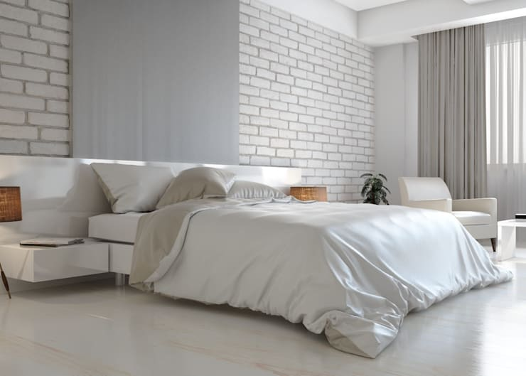 Bedroom by ROAS ARCHITECTURE 3D DESIGN