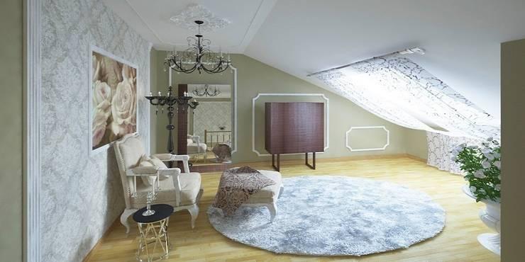 Дизайн-проект таунхауса 300 кв. м.: Коридор и прихожая в . Автор – Мастерская архитектуры и дизайна FOX