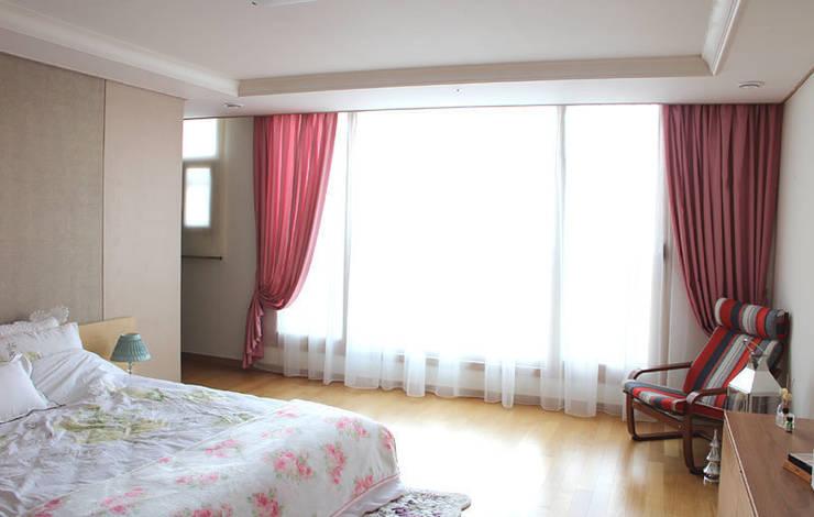 غرفة نوم تنفيذ 모린홈
