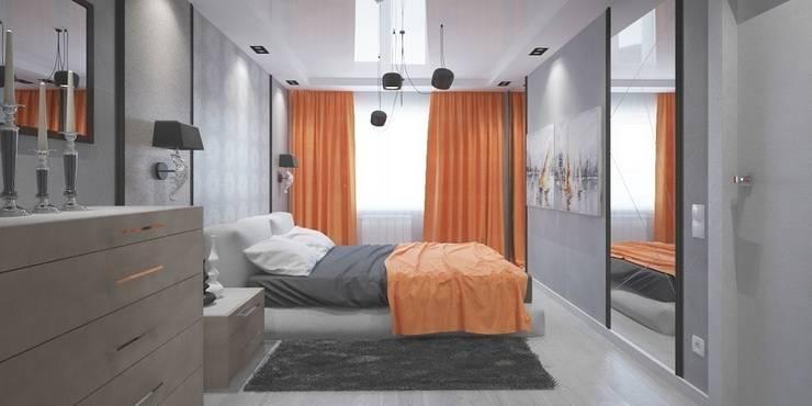 Kamar Tidur oleh Мастерская архитектуры и дизайна FOX, Modern