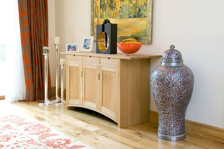Sideboard of solid european oak:  Dining room by Andrew Lawton Furniture