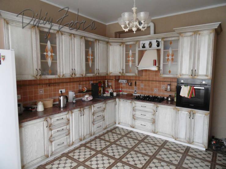 Кухня в венецианском стиле: Кухня в . Автор – Dikiy Zebra