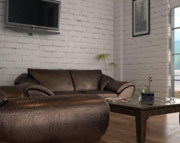 ROAS ARCHITECTURE 3D DESIGN – Chairman of the board room:  tarz Ofis Alanları