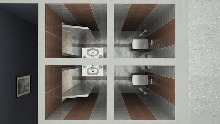 ROAS ARCHITECTURE 3D DESIGN – HEAD OFFICE PROJECT FOR PEKDEMIR GROUP:  tarz Ofis Alanları