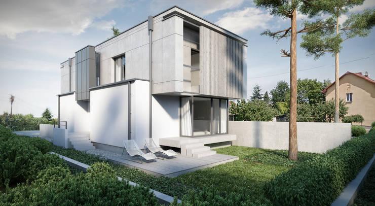 ogród rekreacyjny: styl , w kategorii Domy zaprojektowany przez ENDE marcin lewandowicz,Nowoczesny